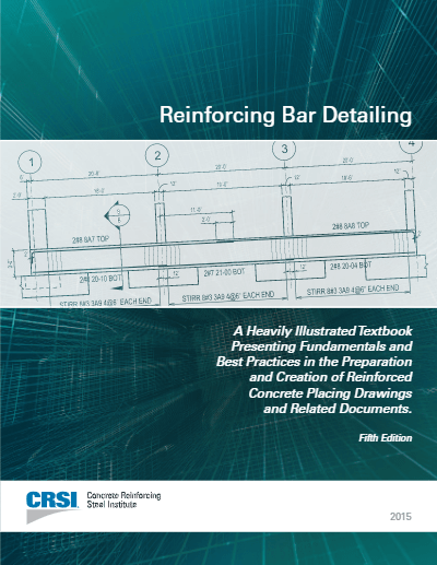 Reinforcing Bar Detailing 5th Edition