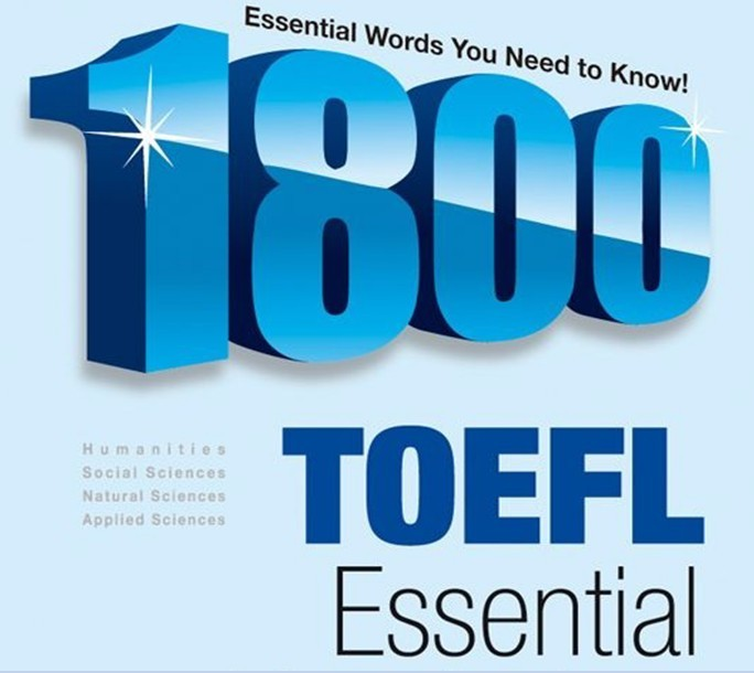 1800 TOEFL Essential words