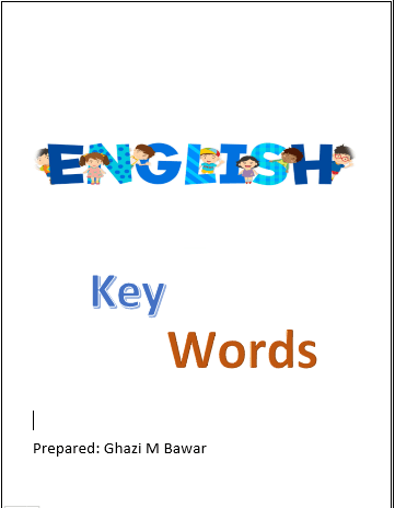 English Key Words