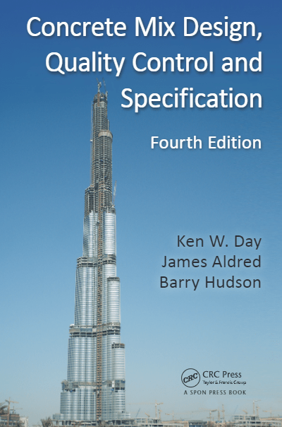 Concrete Mix Design Quality Control and Specification 4th Edition