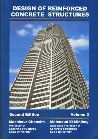 Design of Reinforced Concrete Structures Volume 2